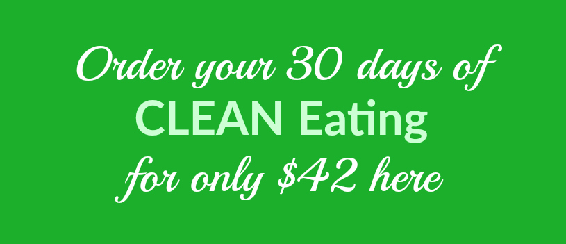 clean eating purchase banner